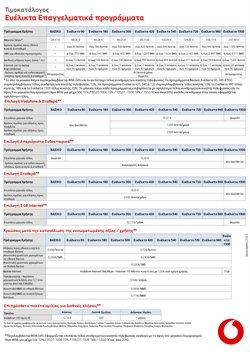 Κατάλογος Vodafone σε Καλαμαριά ( 30+ ημέρες )