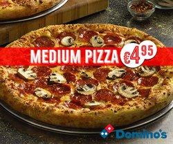 Προσφορές από Εστιατόρια στο φυλλάδιο του Domino's Pizza ( 9 ημέρες)