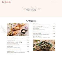 Προσφορές από La Pasteria στο φυλλάδιο του La Pasteria ( 30+ ημέρες)