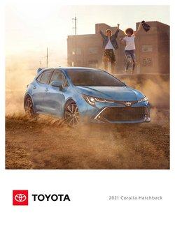 Προσφορές από Toyota στο φυλλάδιο του Toyota ( 30+ ημέρες)