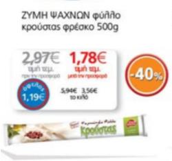 Προσφορές από My Market στο φυλλάδιο του Αθήνα