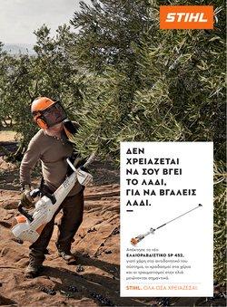 Προσφορές από ΙδιοΚατασκευές στο φυλλάδιο του Stihl ( 30+ ημέρες)