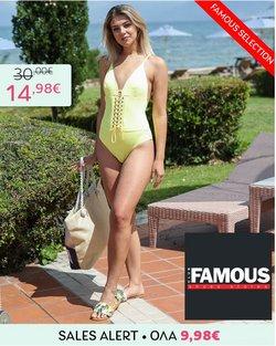 Προσφορές από Famous shoes στο φυλλάδιο του Famous shoes ( 30+ ημέρες)