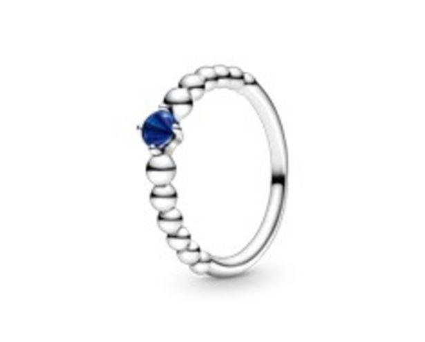 Προσφορά Sea Blue Beaded Ring για 45€