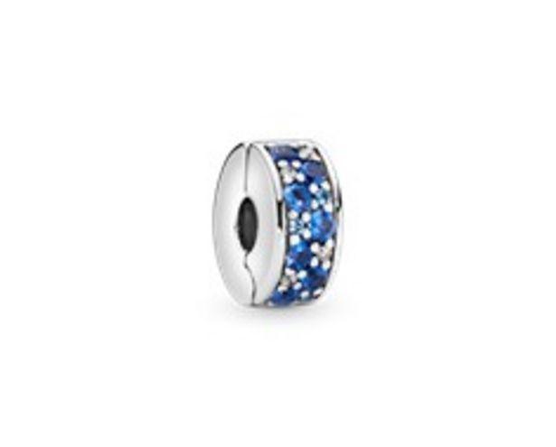 Προσφορά Blue Pavé Clip Charm για 39€