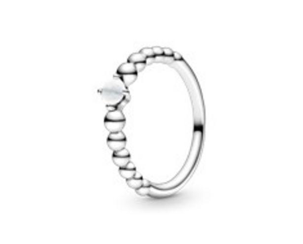 Προσφορά Milky White Beaded Ring για 45€