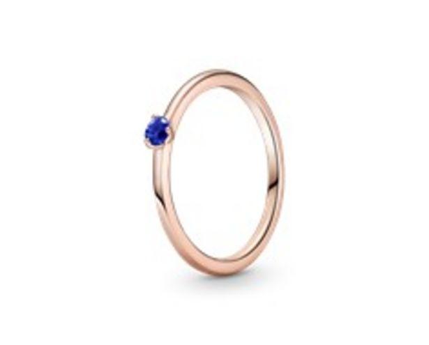 Προσφορά Stellar Blue Solitaire Ring για 39€