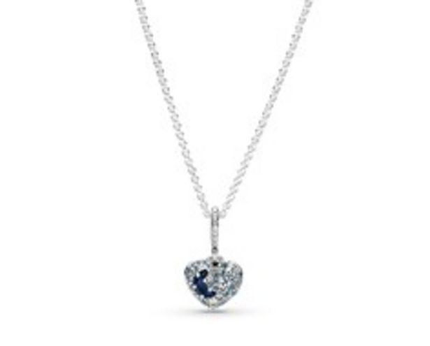 Προσφορά Sparkling Blue Moon & Stars Heart Necklace για 99€