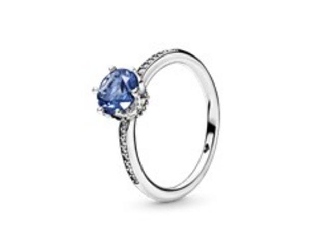 Προσφορά Δαχτυλίδι Blue Sparkling Crown για 69€