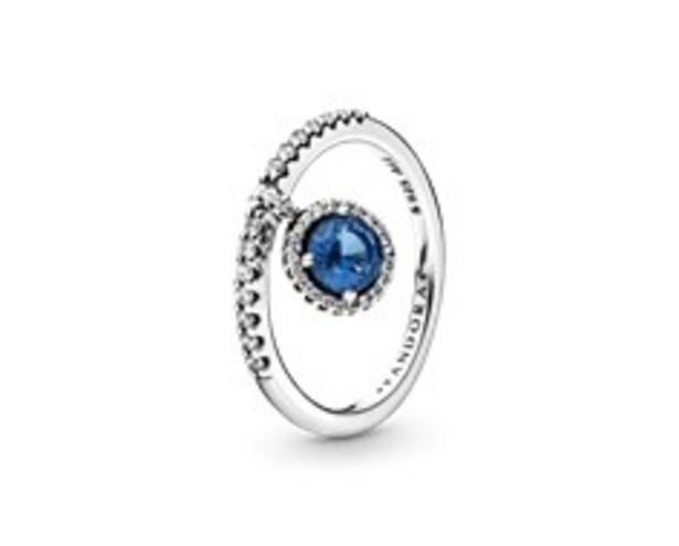 Προσφορά Blue Dangling Round Sparkle Ring για 69€