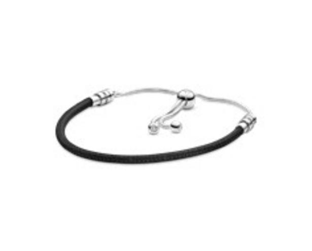 Προσφορά Moments Sliding Bracelet, Black για 49€
