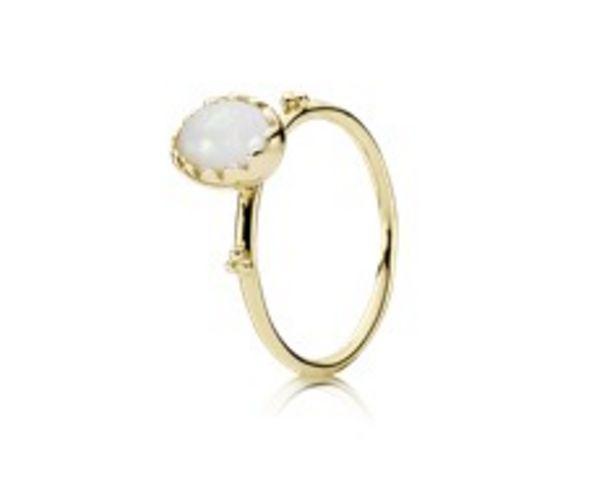 Προσφορά Gold ring, white opal για 449€