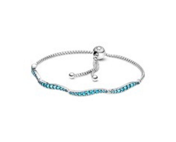 Προσφορά Blue Wavy Slider Bracelet για 69€