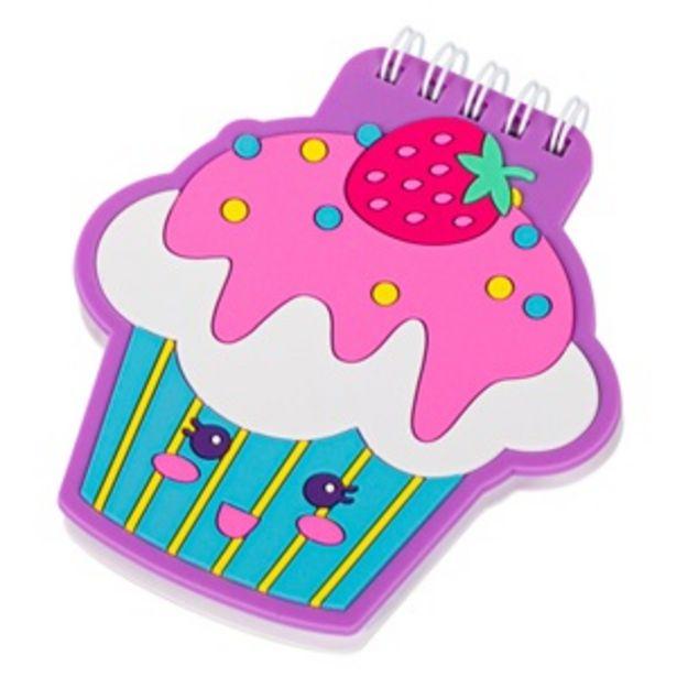 Προσφορά Μπλοκ Σημειώσεων Σπιράλ Cupcake 10x11 cm - 60 Φ για 0,99€