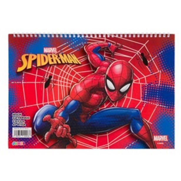 Προσφορά Μπλοκ Ζωγραφικής Σπιράλ για Αγόρι Α4 SPIDERMAN 40 Φ για 1,99€