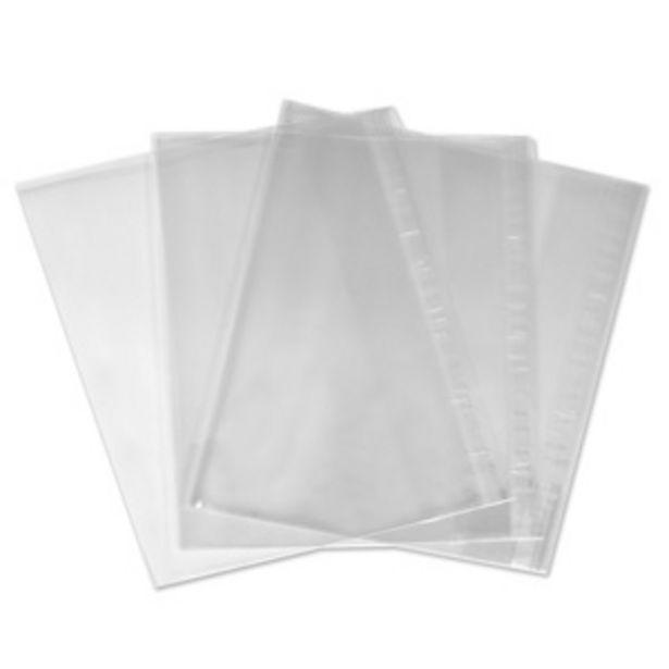 Προσφορά Κάλυμματα Διάφανα Αυτοκόλλητη Άκρη 48x29.7 cm - 10 τμχ. για 0,79€