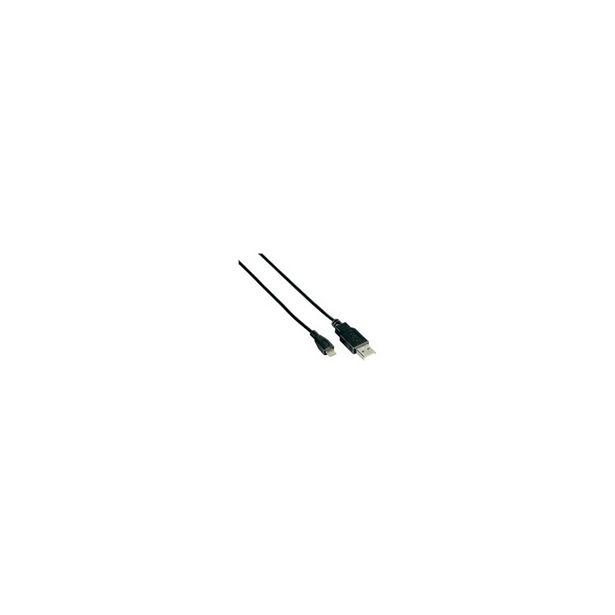 Προσφορά Cable OsioUSB to Micro USB Μαύρο για 3,9€
