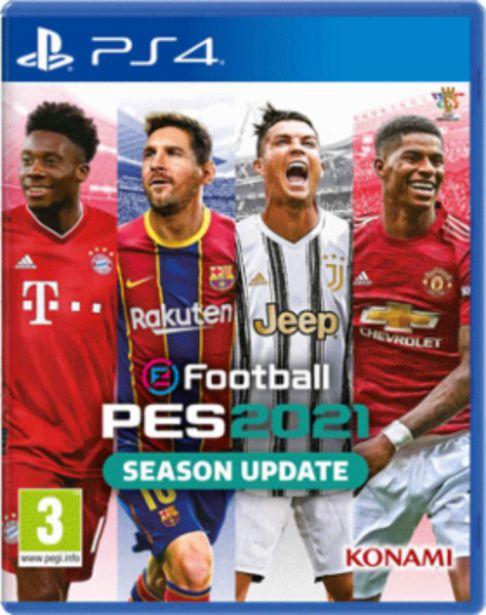 Προσφορά EFootball PES 2021 PS4 για 27,99€