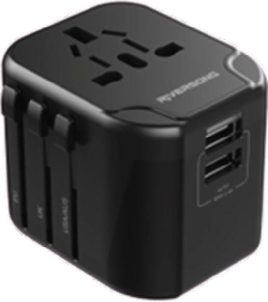 Προσφορά Riversong Travel Adapter TravelKub P2 Dual USB για 24,99€