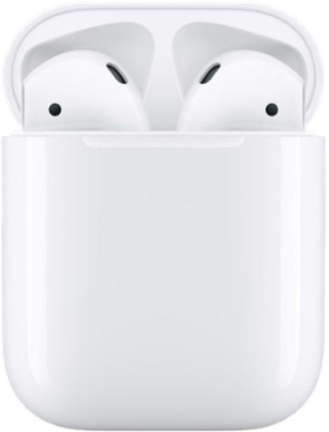 Προσφορά Apple AirPods με ενσύρματη θήκη φόρτισης για 129€