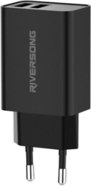 Προσφορά Riversong Travel Adapter SafeKub D2 2.4A Dual USB για 9,99€