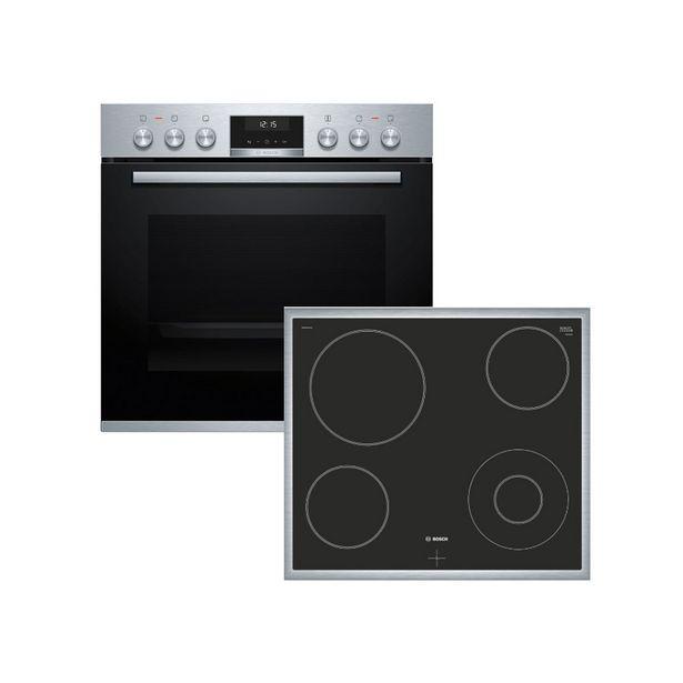 Προσφορά Bosch HEA537BS00 + NKF645GA1G Σετ Φούρνος + Εστία για 699€