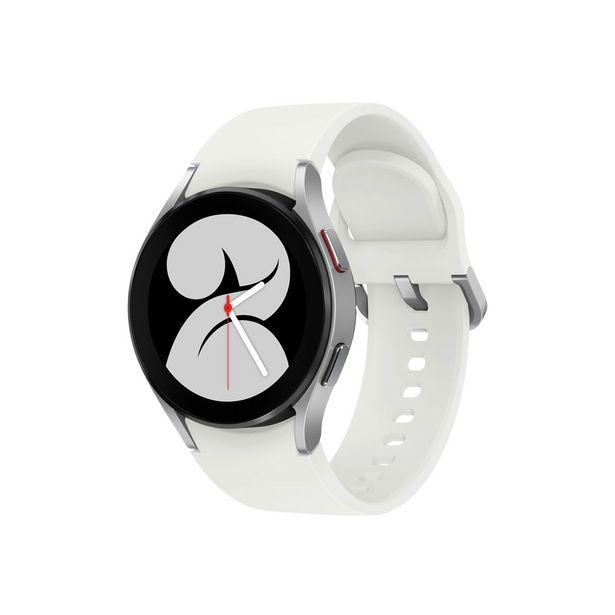 Προσφορά Samsung Galaxy Watch 4 40mm Smartwatch Silver για 269,9€
