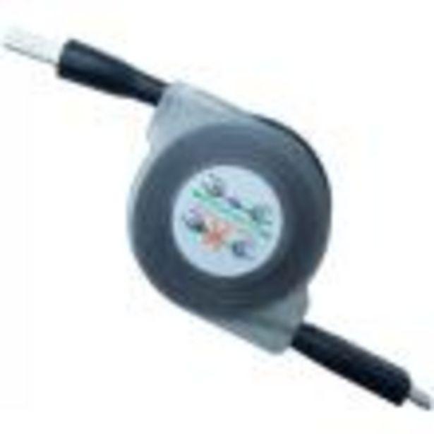 Προσφορά CREEV MU-200RL MICRO USB TO USB RETRACTABLE LED CABLE 17CM BLACK για 2,4€