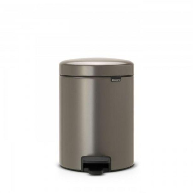 Προσφορά Brabantia Δοχείο απορριμάτων 5 λτ. Platinum σειρά New Icon για 36€