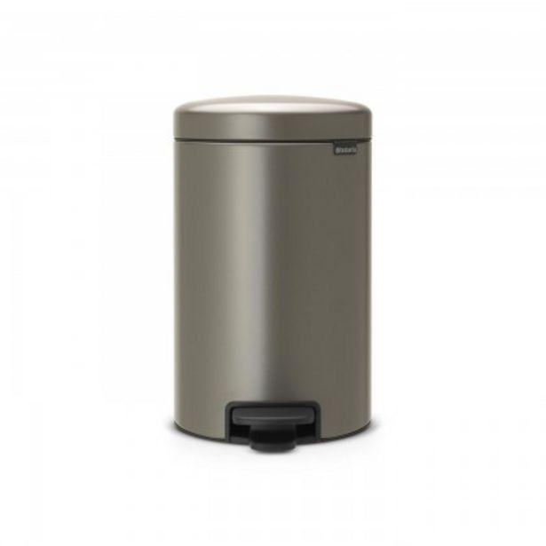 Προσφορά Brabantia Δοχείο απορριμάτων 12 λτ. Platinum σειρά New Icon για 47,5€