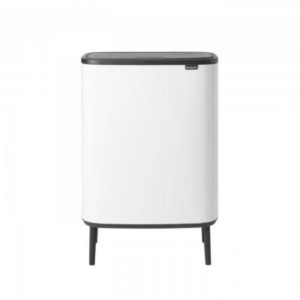Προσφορά Brabantia Δοχείο απορριμμάτων Touch Bin Hi 2x30lt White σειρά BO για 189€