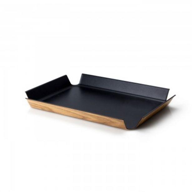 Προσφορά Continenta Δίσκος 45Χ34Χ4 εκ. Black metallic σειρά Living για 44€