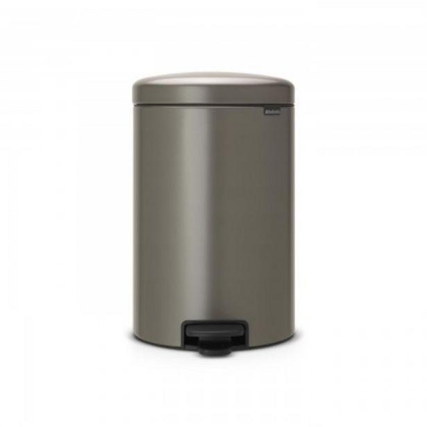 Προσφορά Brabantia Δοχείο απορριμάτων 20 λτ. Platinum New Icon για 63,5€