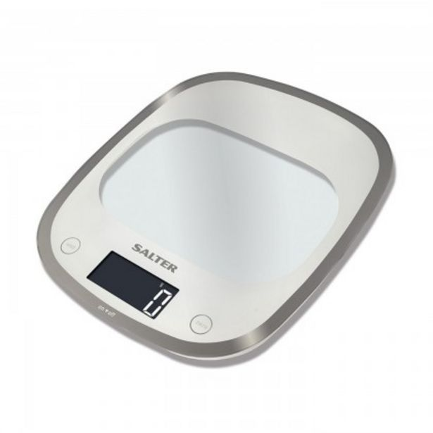 Προσφορά Salter Ζυγαριά κουζίνας 5 kg σειρά Curve Glass για 23€