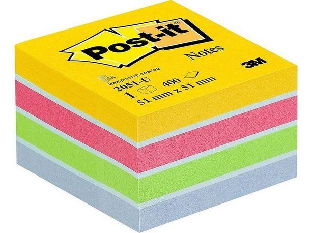 Προσφορά Post-it Αυτοκόλλητα Σημειώσεων Mini Κύβος Ν205 για 2,65€