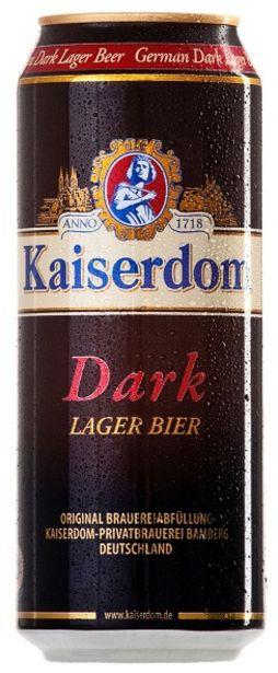 Προσφορά Kaiserdom Dark Μπύρα Κουτί 500ml για 0,78€
