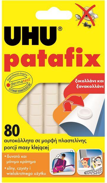 Προσφορά UHU Patafix Αυτοκόλλητα Ν. 11846 80 τεμάχια για 2,09€