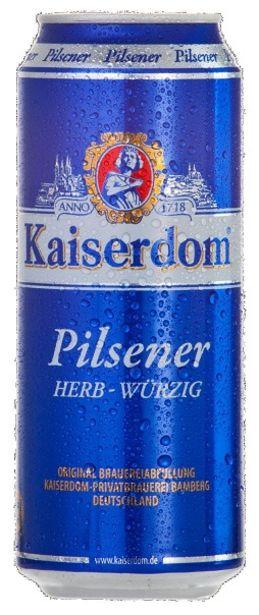 Προσφορά Kaiserdom Pilsener Μπύρα Κουτί 500ml για 0,7€