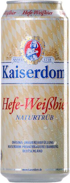 Προσφορά Kaiserdom Hefe Weissbier Μπύρα 500ml για 0,76€