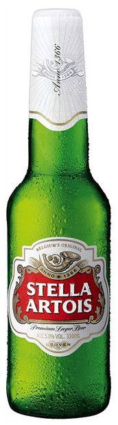 Προσφορά Stella Artois Μπύρα Φιάλη 330ml για 1,1€