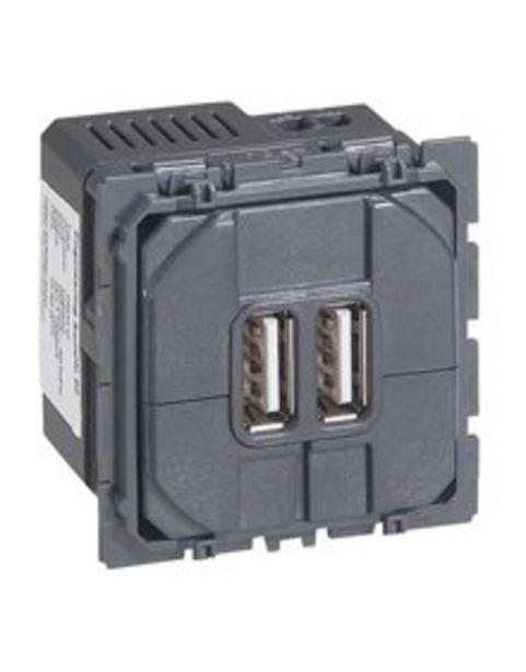 Προσφορά Μηχανισμός πρίζας USB 2M 2USB για 25,82€