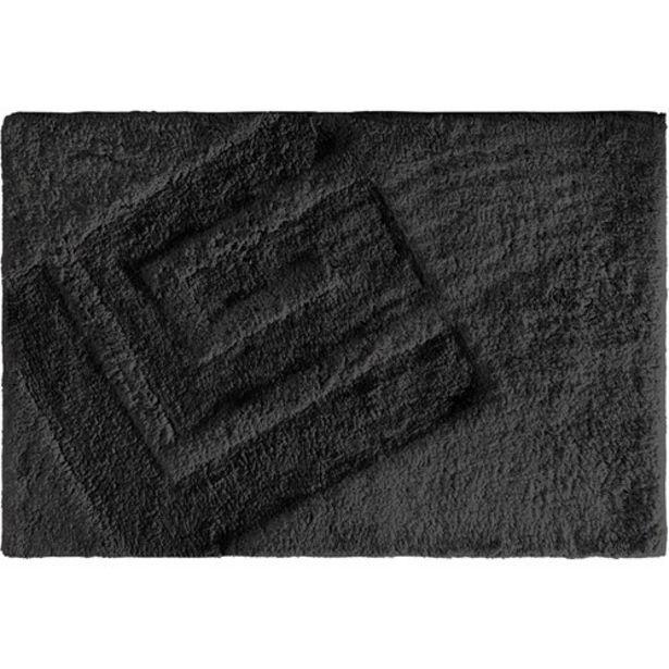 Προσφορά Guy Laroche Πατάκι Μπάνιου Trivia Black 40 x 60 για 12,8€