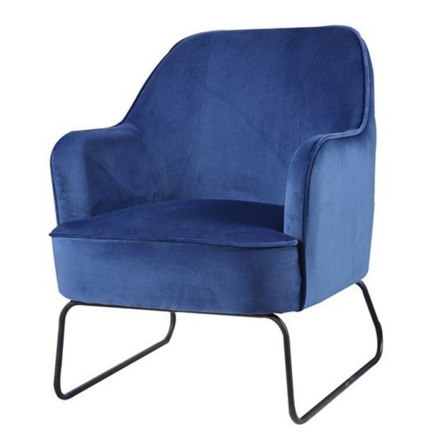 Προσφορά Πολυθρόνα Grete Blue για 111,99€