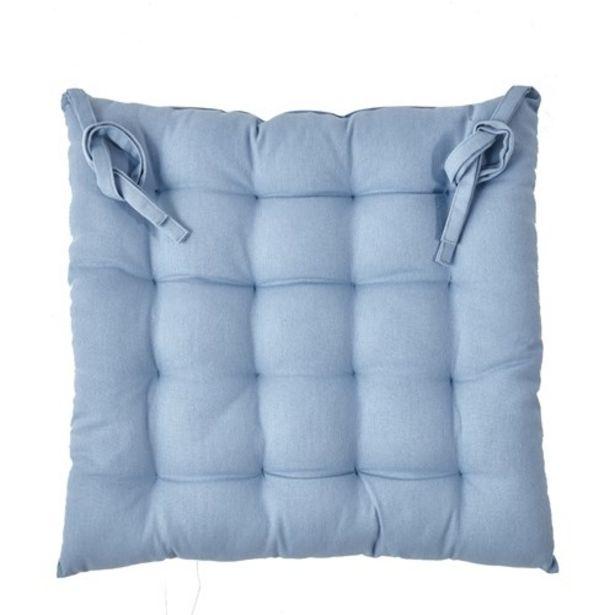 Προσφορά Kentia Loft Diego 01 Blue Μαξιλάρι Καθίσματος για 9,35€