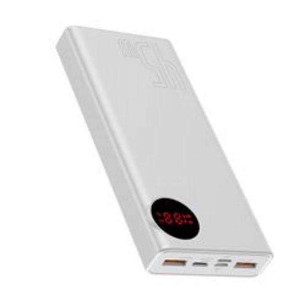 Προσφορά Baseus 45w Quick Charge 2x Usb & Usb Type C White για 34,9€