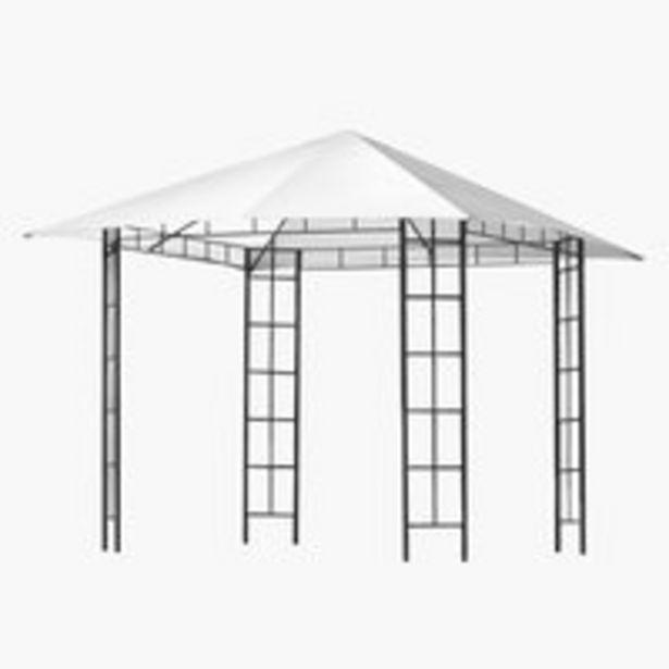 Προσφορά Οροφή γ/κιόσκι FAABORG Π300xΜ300 λευκό για 45€