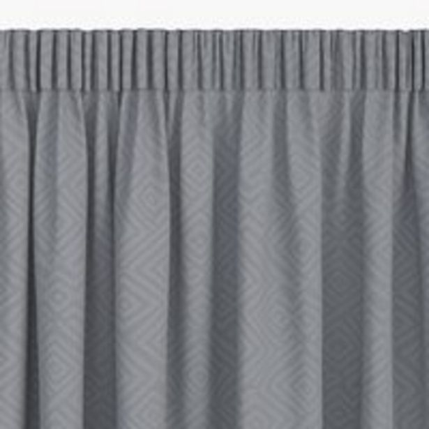 Προσφορά Κουρτίνα LYGNE 1x140x300 ζακάρ γκρι για 12,5€