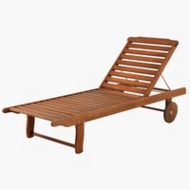 Προσφορά Ξαπλώστρα DALRIPA Π71xΜ189 σκλ.ξύλο για 100€