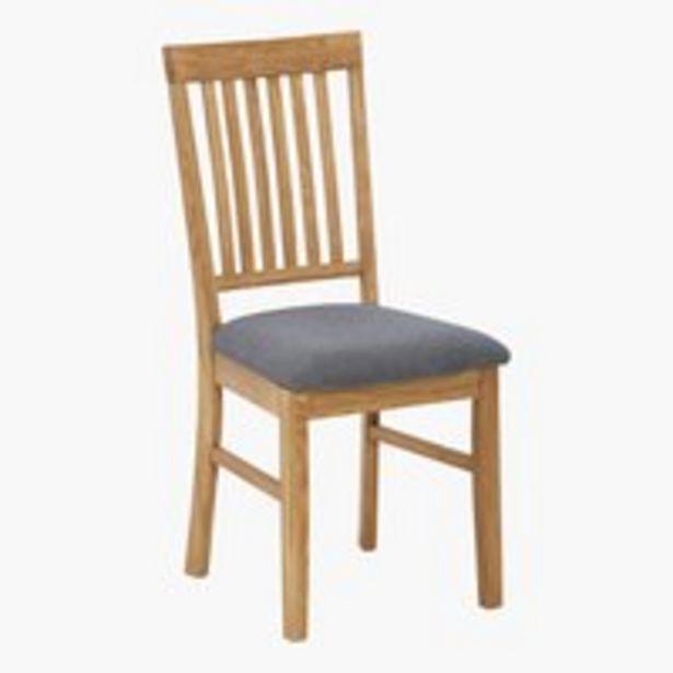 Προσφορά Καρέκλα τραπεζ. HAGE γκρι/δρυς για 60€