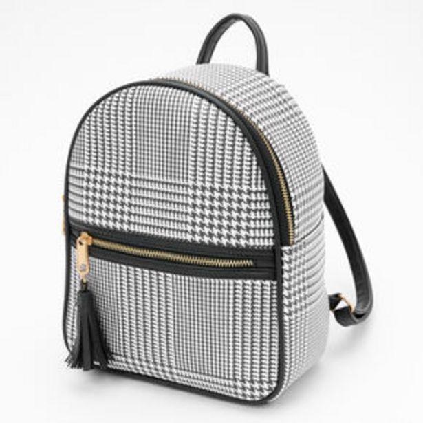 Προσφορά Glen Plaid Small Backpack - Black για 18€